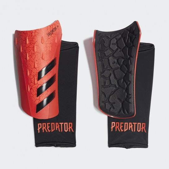 Caneleira Adidas Predator SG League - Vermelho