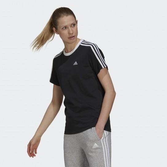 T-shirt Adidas 3 Stripes Essentials - Preto