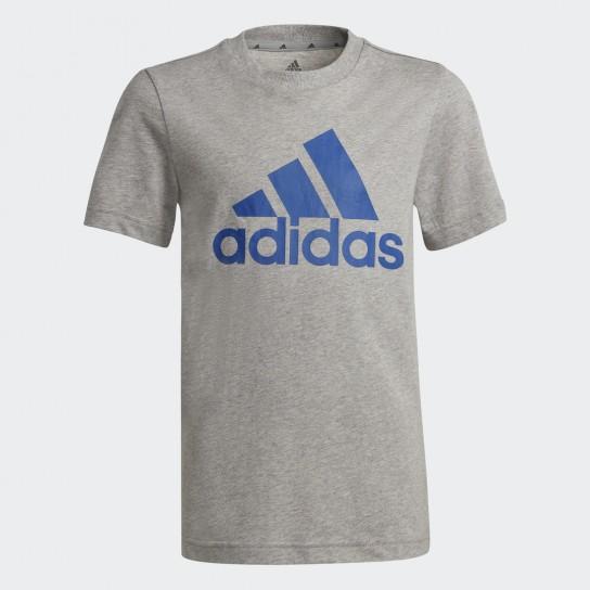 T-shirt Adidas Boys Essentials Big Logo - Cinza