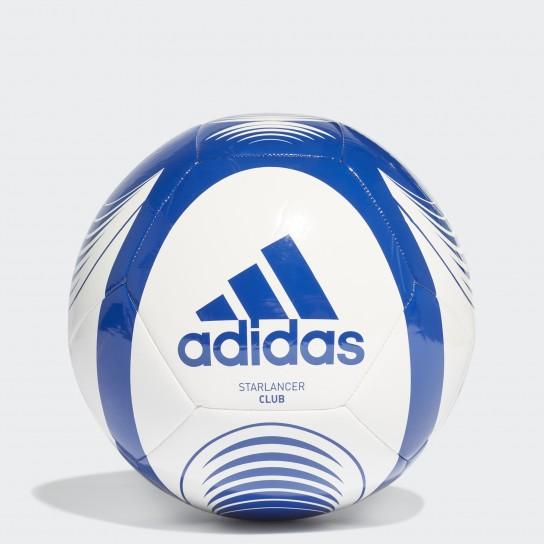 Bola Adidas Starlancer Club - Branca/Azul