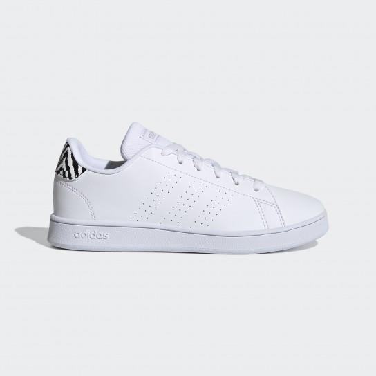 Adidas Advantage K - Branco/Zebra