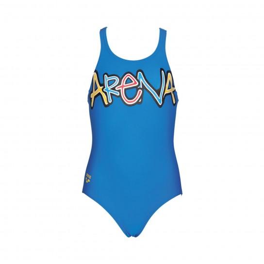 Fato banho Arena Sparkle Jr - Azul