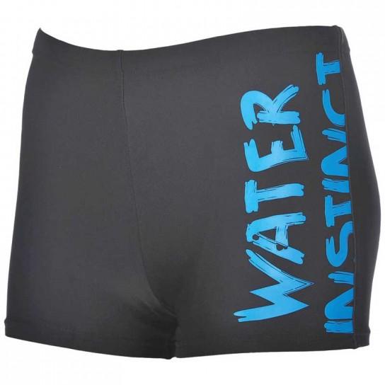 Boxer natação Arena Slogan Jr - Preto/Azul