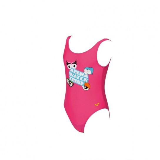 Fato banho Arena AWT Kids - Rosa