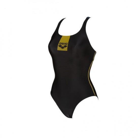 Fato Banho Arena W Basic Swim Pro - Preto