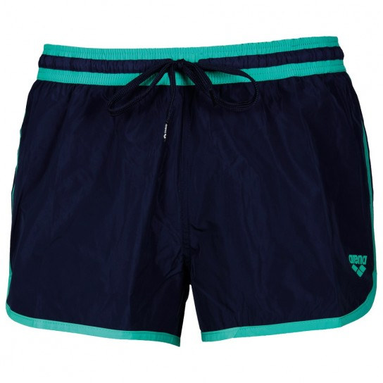 Arena X-Short Fundamental - Navy/Bali Green