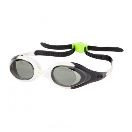 Óculos natação Arena Spider Jr - Branco/Preto