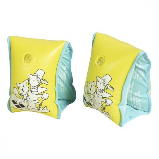 Braçadeiras de natação Arena Friends Soft - Amarela