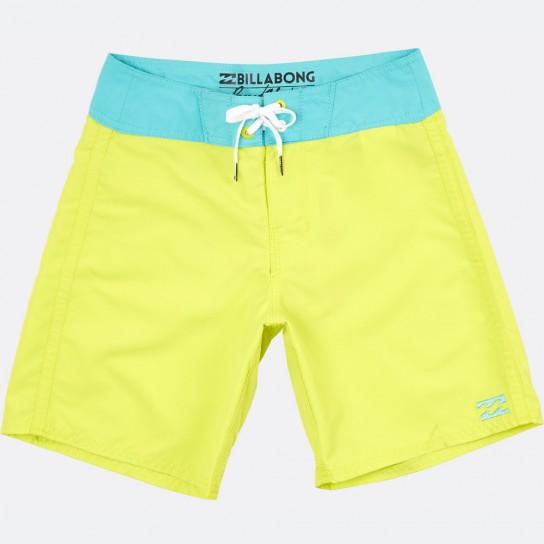 Boardshort All Day Cut OG Boy Billabong - Neo Lime