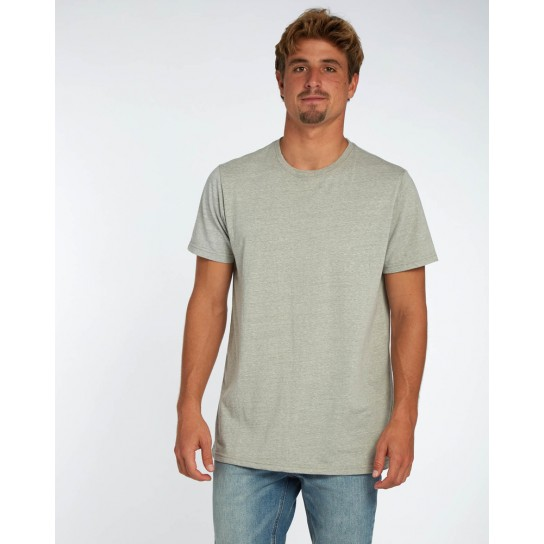 T-shirt Billabong All Day Crew - Grey Heather