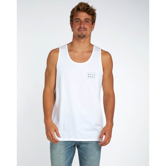 T-shirt Billabong Singlet Die Cut -  Branca