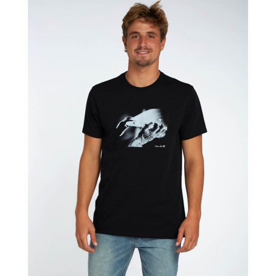 T-shirt Billabong Blue Room - Black