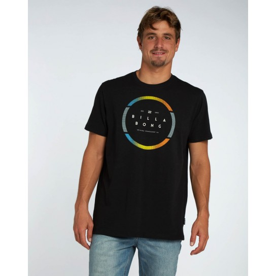 T-shirt Billabong Spinning - Black