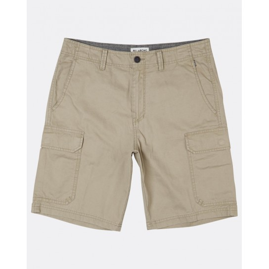 Calção Billabong Walkshort All Day Cargo - Khaki