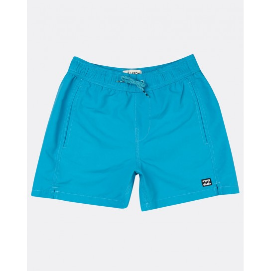 Calção praia Billabong All Day Layback Boy - Azul