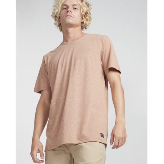 T-shirt Billabong All Day Crew - Vermelho