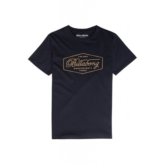 T-shirt Billabong Trademark Boy - Azul