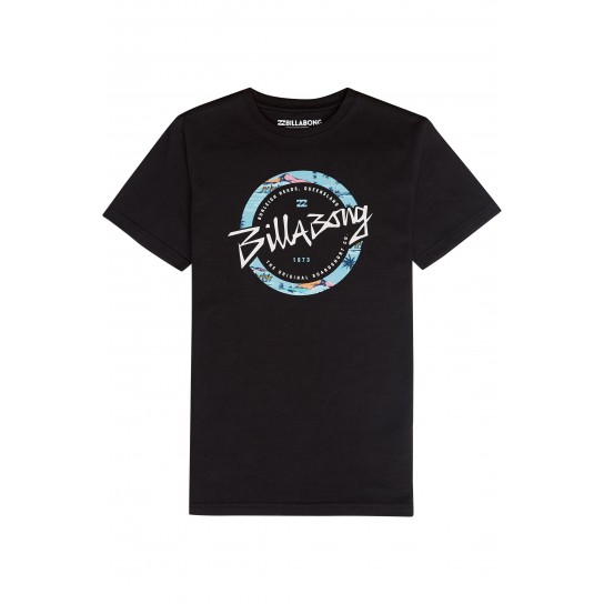 T-shirt Billabong Eighty - Preto