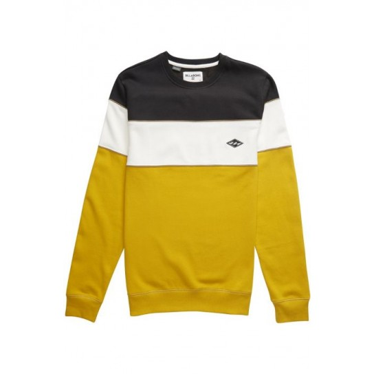 Sweat Billabong Edge Crew - Amarelo