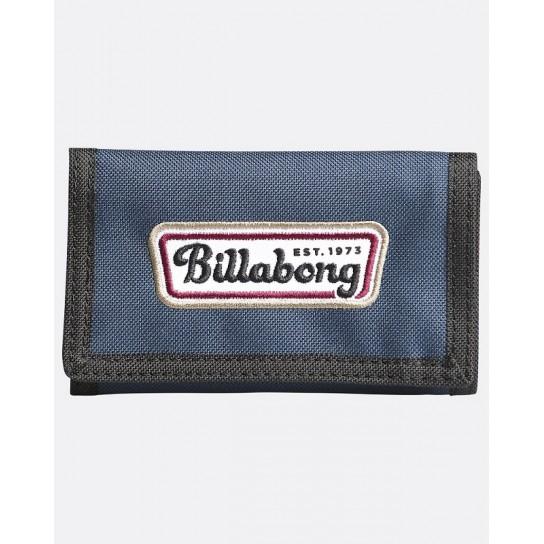 Carteira Billabong Tri Fold - Azul