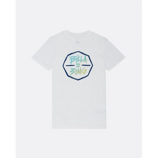 T-shirt Billabong Octo Boy - Branco