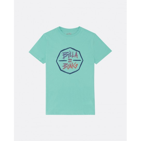 T-shirt Billabong Octo Boy - Verde