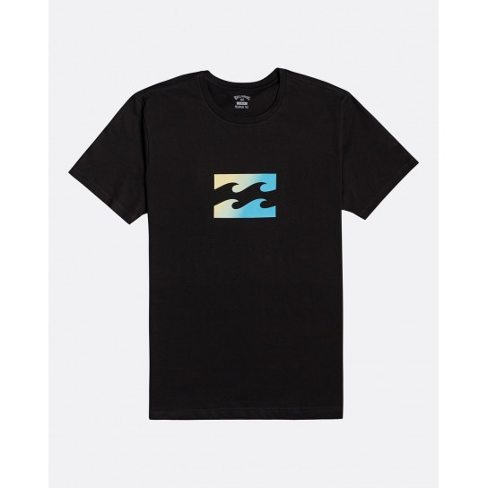 T-shirt Billabong Team Wave - Black