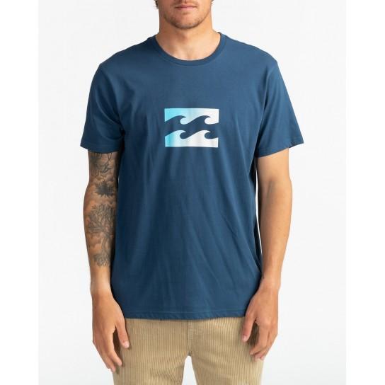 T-shirt Billabong Team Wave - Denim Blue