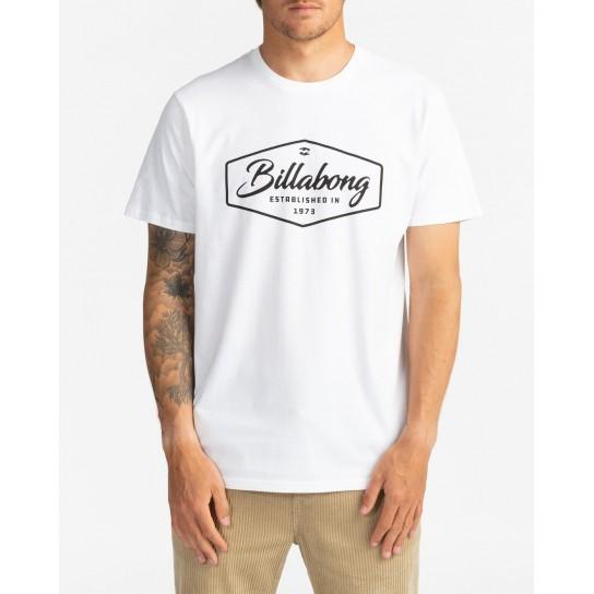 T-shirt Billabong Trademark - Branca