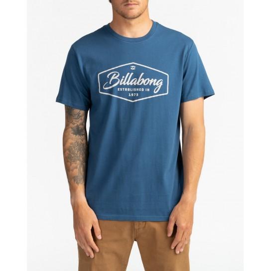 T-shirt Billabong Trademark - Denim blue