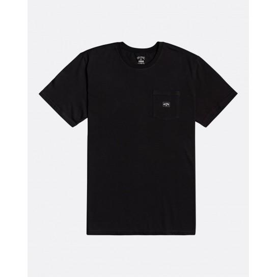 T-shirt Billabong Stacked - Preta