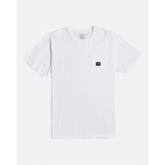 T-shirt Billabong Stacked - Branca