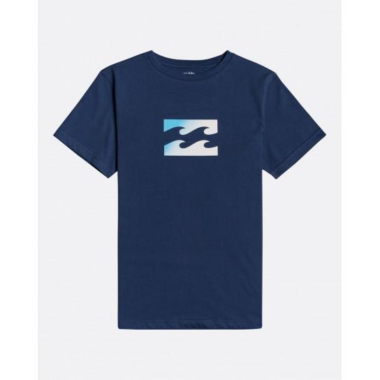 T-shirt Billabong Team Wave Boy - Azul