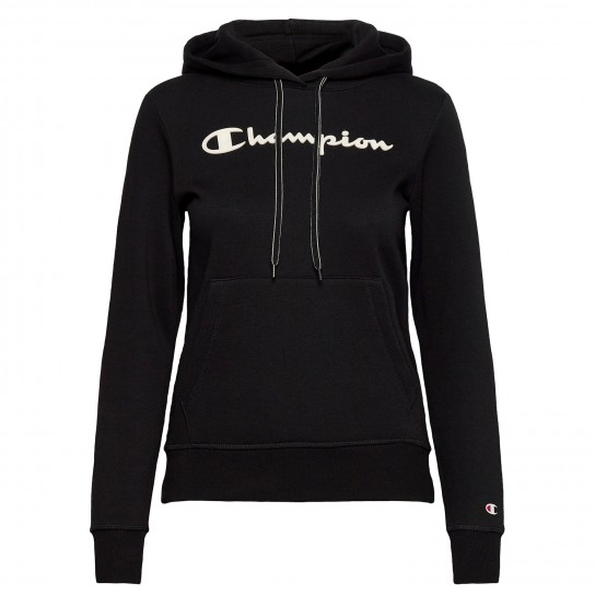 Sweat Champion Hooded W - Preto