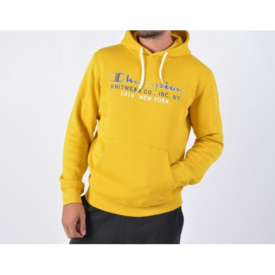 Sweat Champion Hooded - Amarelo