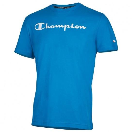 T-shirt Champion crewneck - Azul Porto