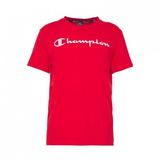 T-Shirt Champion Crew - Vermelho