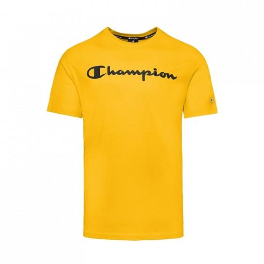 T-Shirt Champion Crew - Amarelo