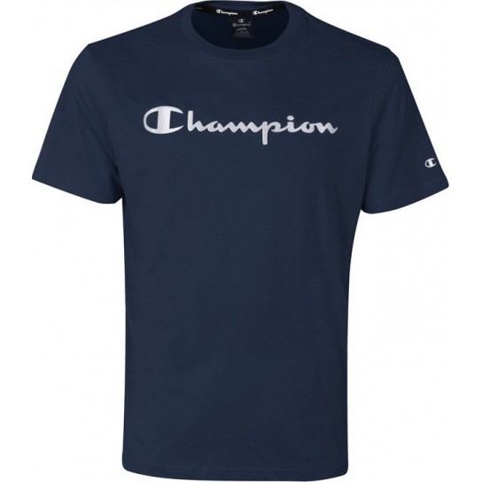 T-Shirt Champion Crew - Azul