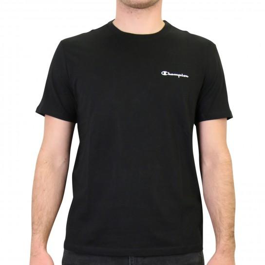 T-shirt Champion Small Logo - preta