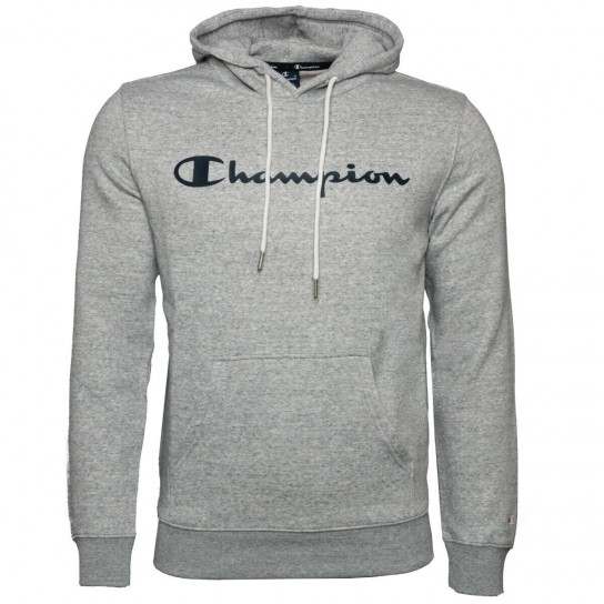 Sweat Champion Hooded - Cinza
