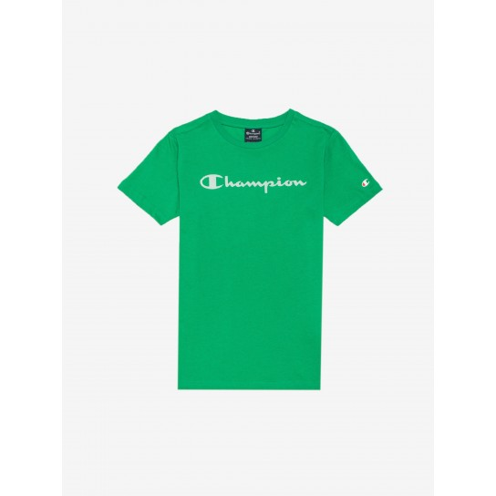 T-shirt Champion Crew Neck Jr - Verde