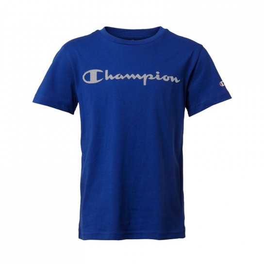 T-shirt Champion Crew Jr - Azul Porto