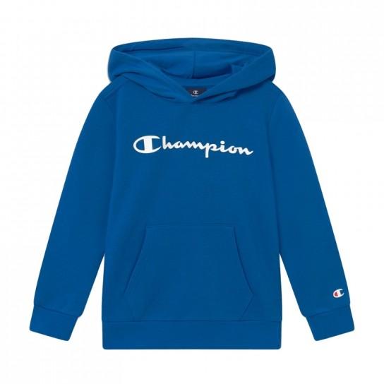 Sweat Champion Hooded Jr - Azul Porto