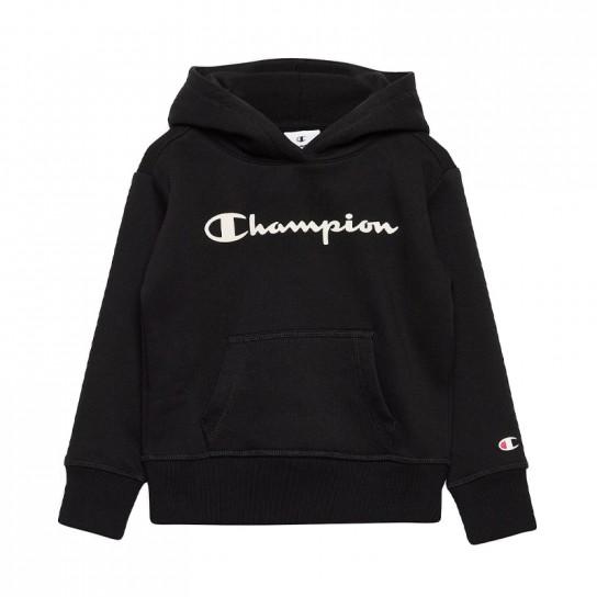 Sweat Champion Hooded G - Preta