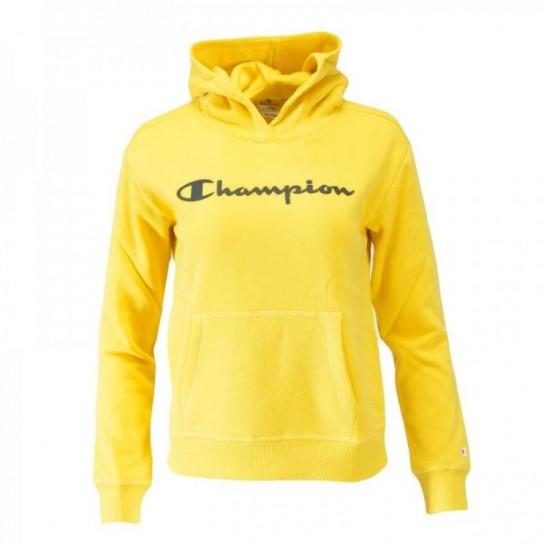 Sweat Champion Hooded G - Amarela