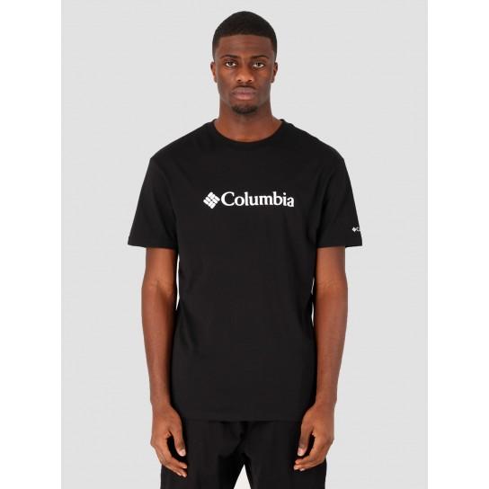 T-shirt Columbia Basic Logo - Preto