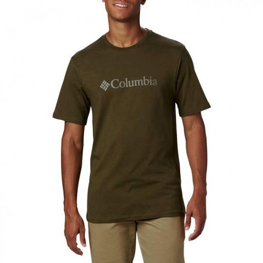 T-shirt Columbia Basic Logo - Verde