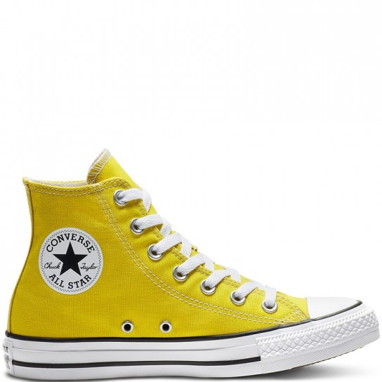 Converse All Star Hi - Bold Citron