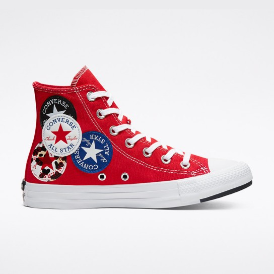 Converse All Star Hi - Red Univ